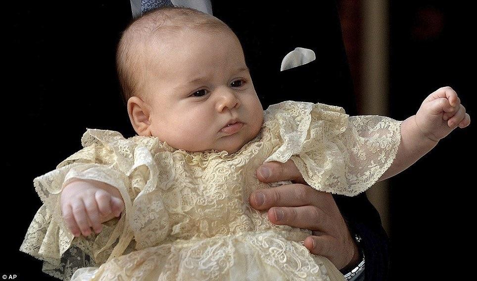 Can I pinch His Royal Highness' chubby cheeks pleeease?
