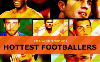 Yet another World Cup 2014 list of gorgeous players